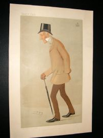 Vanity Fair Print 1893 Duke of Somerset